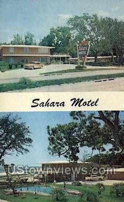 Sahara Motel - Gulf Port, Mississippi MS Postcard