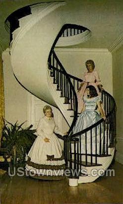 Auburn 1812 - Natchez, Mississippi MS Postcard