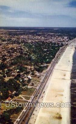 Aerial View Of Old Spanish Trail  - Gulf Coast, Mississippi MS Postcard