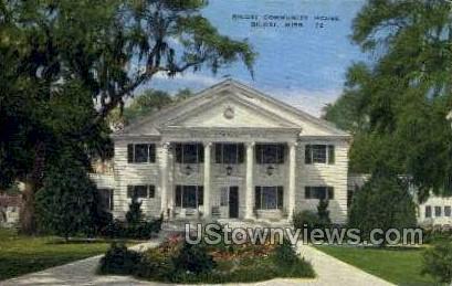 Biloxi Community House - Mississippi MS Postcard
