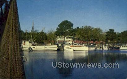 Inner Harbor  - Ocean Springs, Mississippi MS Postcard