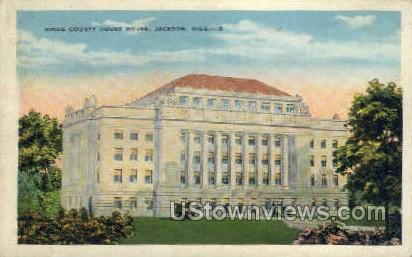 Hinds Court House  - Jackson, Mississippi MS Postcard