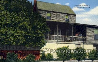 Kings Tavern - Natchez, Mississippi MS Postcard