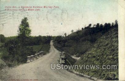 Union Avenue  - Vicksburg, Mississippi MS Postcard
