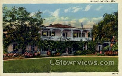 Elms court - Natchez, Mississippi MS Postcard