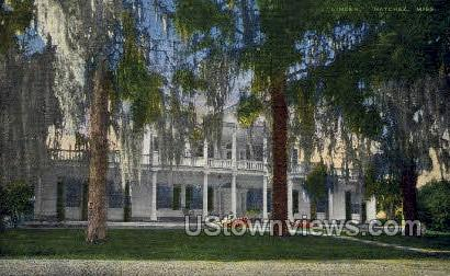 House Of First US Senator - Natchez, Mississippi MS Postcard