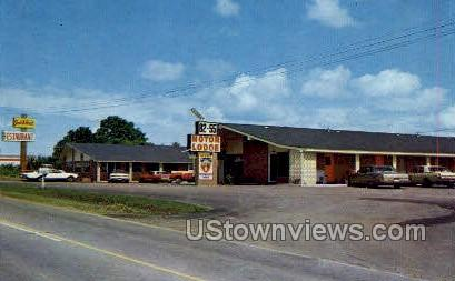 Motor Lodge and Restaurant - Winona, Mississippi MS Postcard