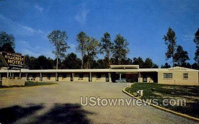 Hillcrest Motel - Vicksburg, Mississippi MS Postcard