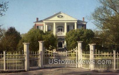 Rosalie Gate  - Natchez, Mississippi MS Postcard
