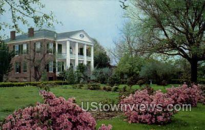 Rosalie Built 1820  - Natchez, Mississippi MS Postcard