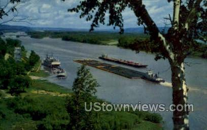 The Mighty Mississippi - Mississippi River Postcards Postcard