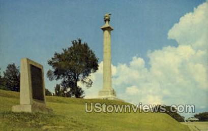 Louisiana Monument National Military  - Vicksburg, Mississippi MS Postcard