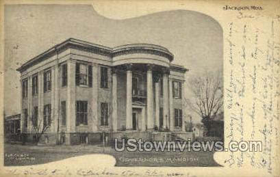 Governors Mansion - Jackson, Mississippi MS Postcard