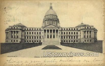 New Capitol  - Jackson, Mississippi MS Postcard