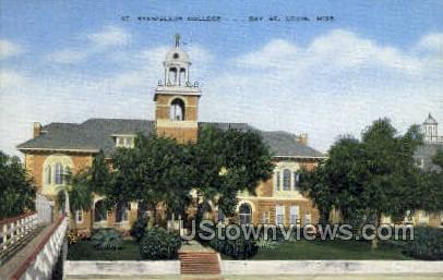 Stanislaus College - Louis, Mississippi MS Postcard