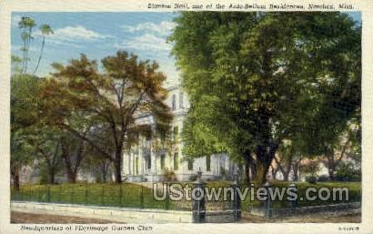 Stanton Hall one OF The Ante Bellum Residences  - Natchez, Mississippi MS Postcard