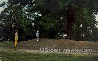 Rifle Pit - Corinth, Mississippi MS Postcard