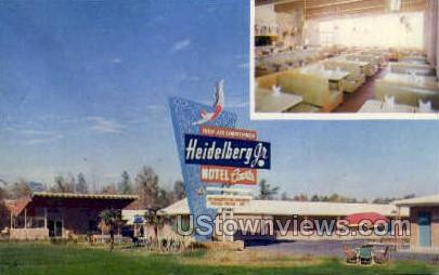 Heidelberg Jr Motel Courts  - Jackson, Mississippi MS Postcard