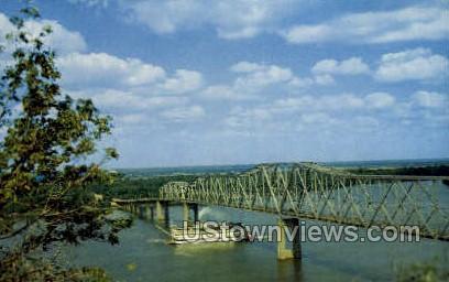 A Stream Wheeler Steamboat - Mississippi River Postcards, Mississippi MS Postcard