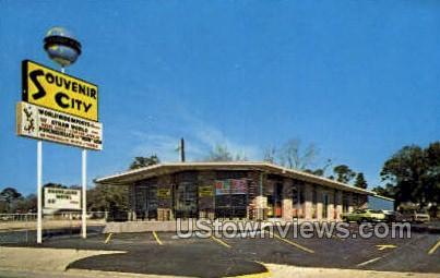 Souvenir City - Biloxi, Mississippi MS Postcard