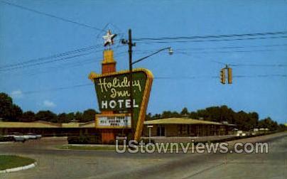 Holiday Inn - Greenwood, Mississippi MS Postcard