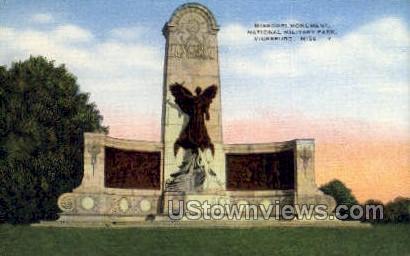Missouri Monument National Military Park - Vicksburg, Mississippi MS Postcard