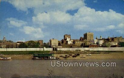 Skyline  - Vicksburg, Mississippi MS Postcard