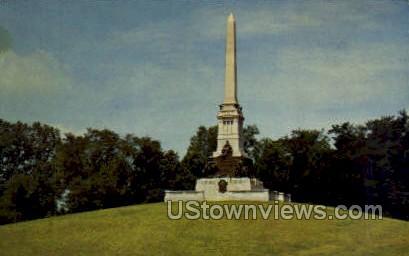 National Military Park Mississippi Memorial - Vicksburg Postcard