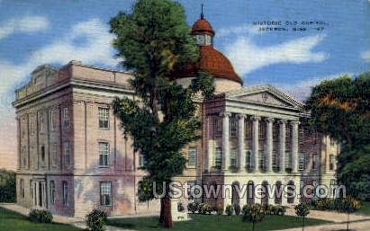 The Old Capitol Of Mississippi - Jackson Postcard