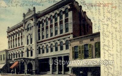 National Hotel - Vicksburg, Mississippi MS Postcard