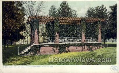 The Rostrum National Military Cemetary - Vicksburg, Mississippi MS Postcard