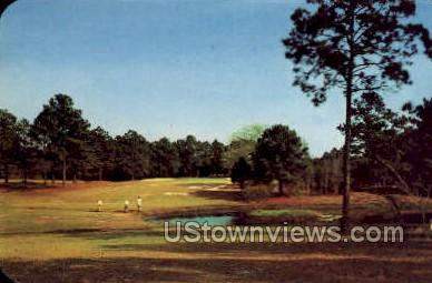 Gulf Hills Dude Ranch and Country Club Hotel - Ocean Springs, Mississippi MS Postcard