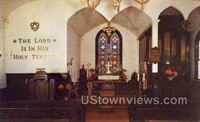 St Pauls Episcopal Church - Woodville, Mississippi MS Postcard