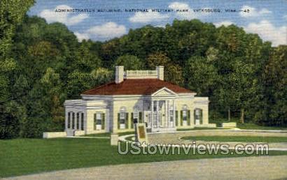 Administration Building National Military Park - Vicksburg, Mississippi MS Postcard