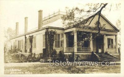 Lans Downe - Real Photo - Natchez, Mississippi MS Postcard