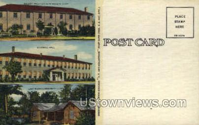 Dunlany Hall Goodwill Hall - Misc, Mississippi MS Postcard