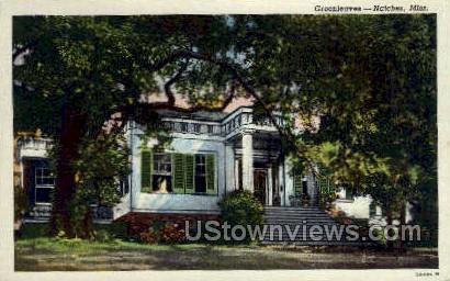 Green Leaves - Natchez, Mississippi MS Postcard