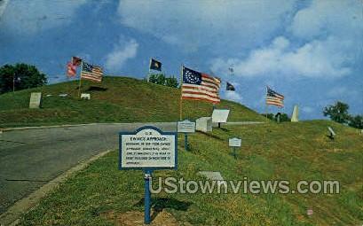 Fly From Stockade Redan - Vicksburg, Mississippi MS Postcard