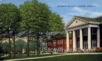 Millsaps College - Jackson, Mississippi MS Postcard