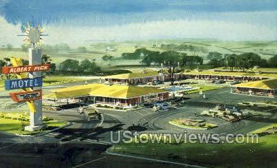 Albert Pick Motel - Natchez, Mississippi MS Postcard