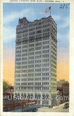 Deposit Guaranty Bank Building - Jackson, Mississippi MS Postcard