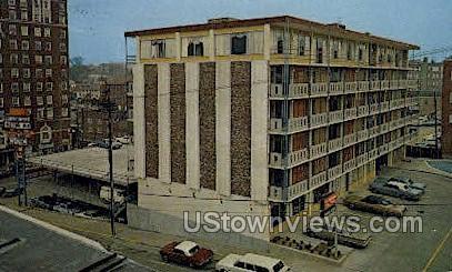 Downtowner Motor Inn  - Vicksburg, Mississippi MS Postcard
