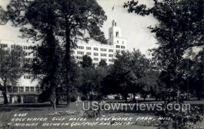 Edgewater Gulf Hotel - Real Photo - Edgewater Park, Mississippi MS Postcard