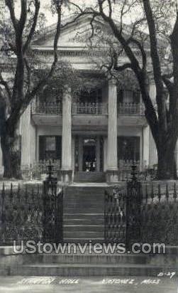Stanton Hall    - Real Photo - Natchez, Mississippi MS Postcard