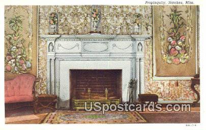 Propinquity - Natchez, Mississippi MS Postcard