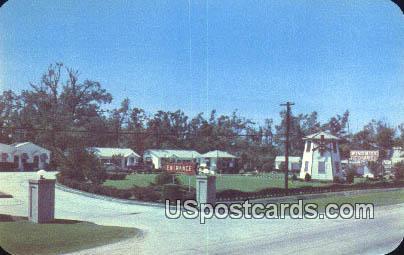 Windmill Court - Natchez, Mississippi MS Postcard