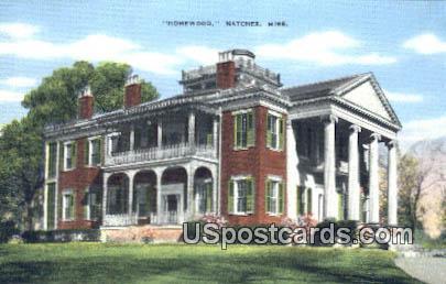 Homewood - Natchez, Mississippi MS Postcard
