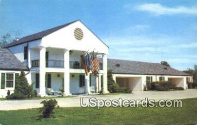 Bellemont Motor Hotel & Restaurant - Natchez, Mississippi MS Postcard