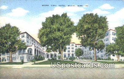 Buena Vista Hotel - Biloxi, Mississippi MS Postcard