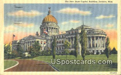 New State Capitol Building - Jackson, Mississippi MS Postcard